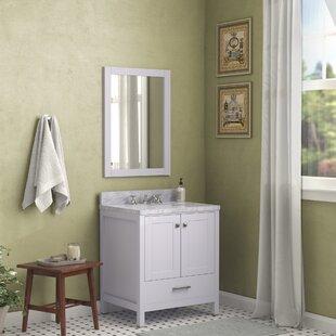 Reviews Meyers 31 Single Bathroom Vanity Set with Mirror ByAndover Mills