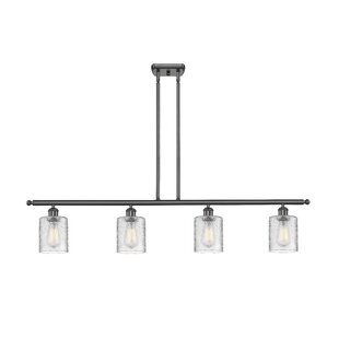 Orren Ellis Inglestone Common 4-Light Kitchen Island Pendant