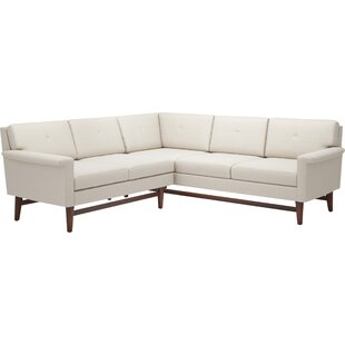 Shop for Diggity 91x 90 Corner Sectional Sofa by TrueModern Reviews (2019) & Buyer's Guide