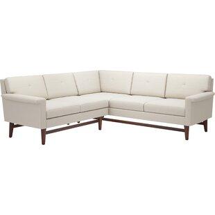 Diggity 91x 90 Corner Sectional Sofa by TrueModern