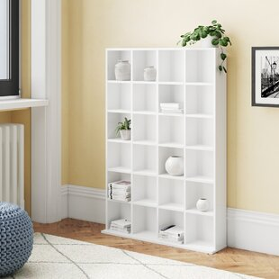 Clearwater Wooden 130.5cm Bookcase By Rebrilliant