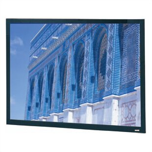 Da-Snap Black Fixed Frame Projection Screen by Da-Lite Bargain
