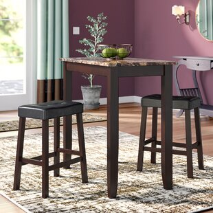 Daisy 3 Piece Pub Table Set