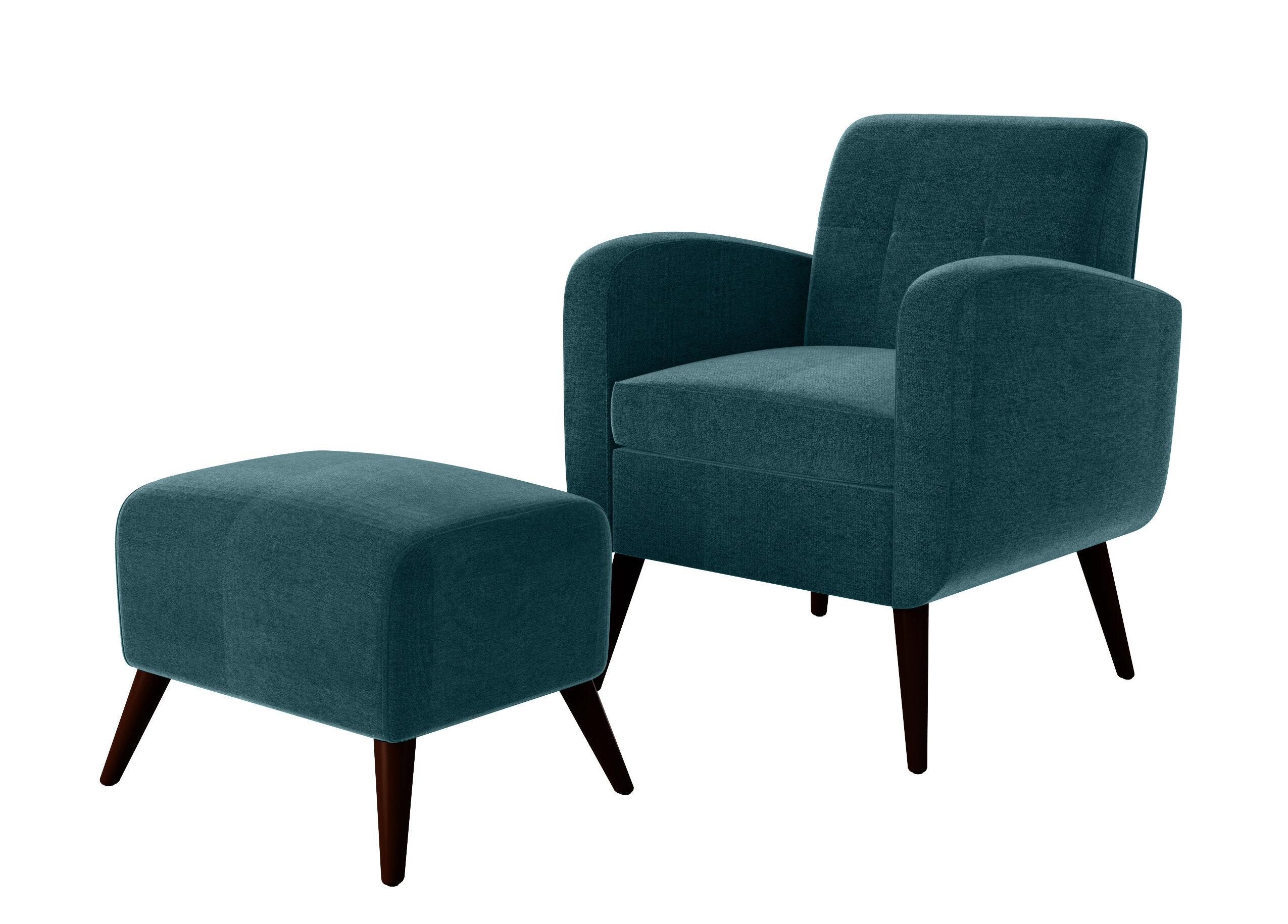 george oliver joetta 20 armchair and ottoman w