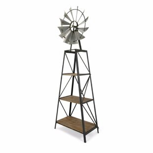 Pugh Windmill Etagere Bookcase by Gracie Oaks