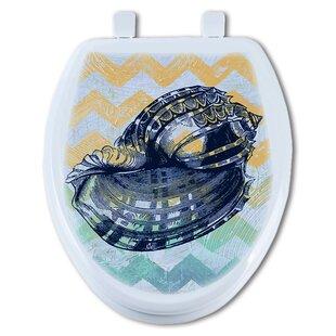 TGC Artisans Seats Shell Round Toilet Seat