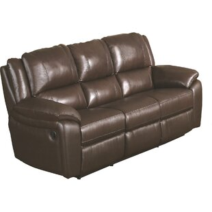 Darby Home Co Orchard Lane Leather Reclining Sofa