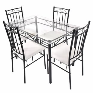 ShipstStour 5 Piece Dining Set