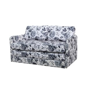 Kathy Reversible Flower Sleeper Loveseat by Container