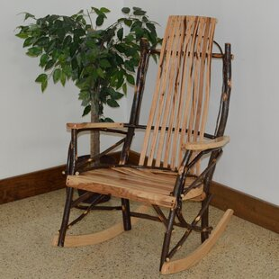 ZanowitZ Hickory Rocking Chair