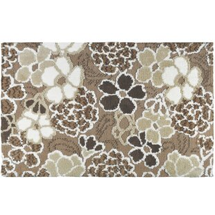 Tang Jellybean Simple Es Sweetheart Fl Tufted Polyester Beige Area Rug