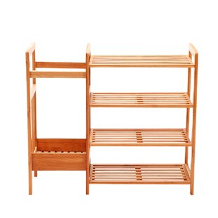 Read Reviews 10 Pair Shoe Rack By Rebrilliant