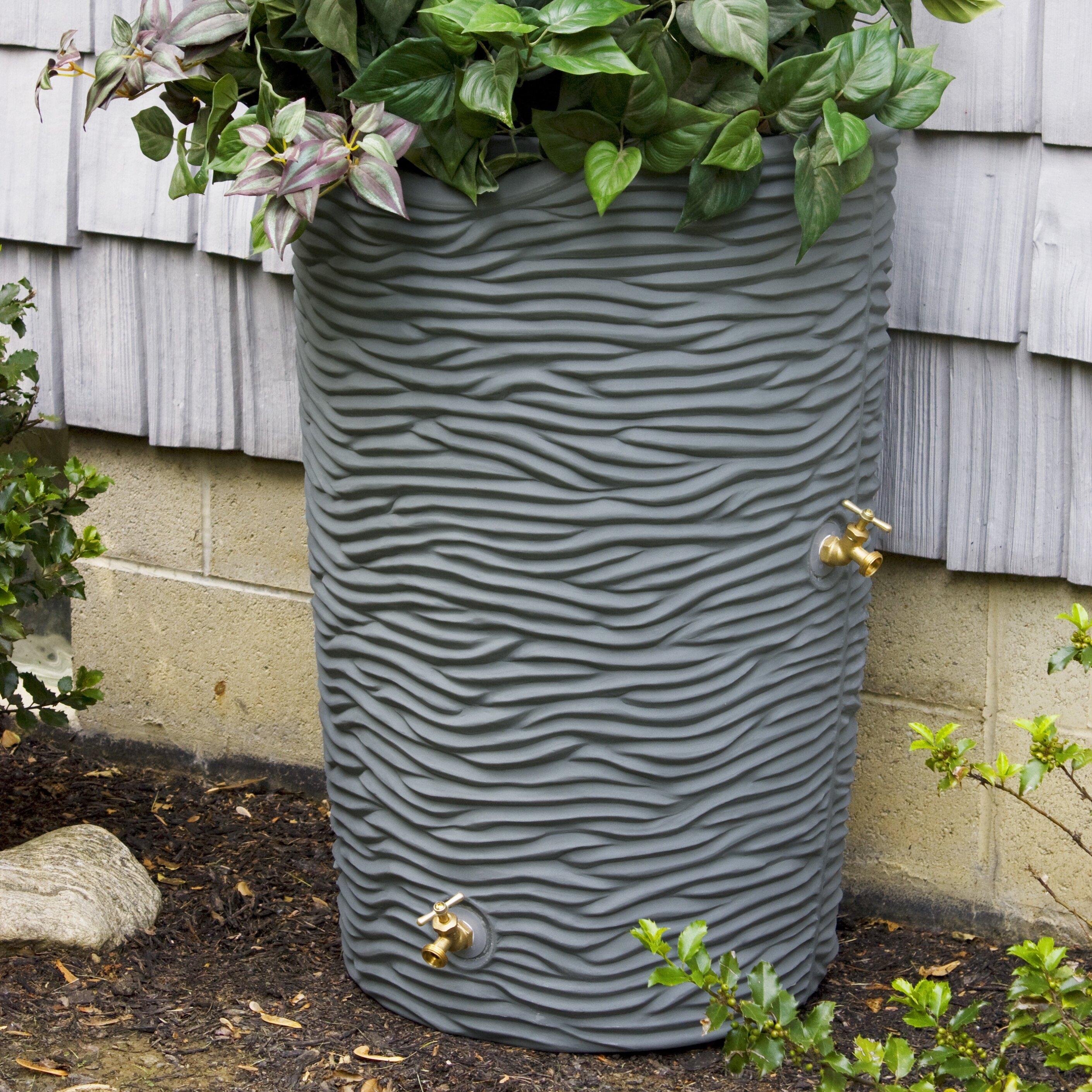good ideas impressions 50 gallon rain barrel reviews. Black Bedroom Furniture Sets. Home Design Ideas