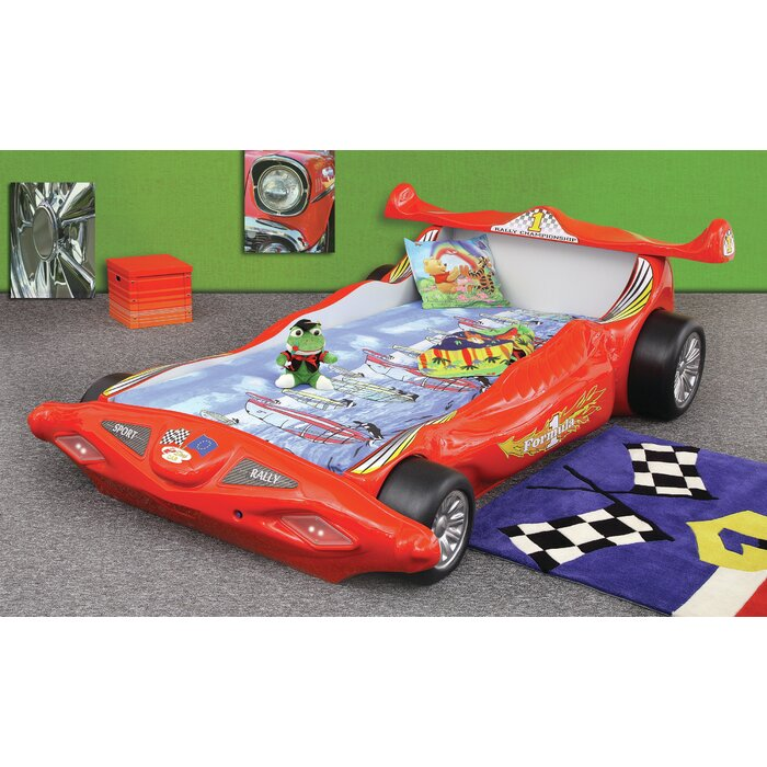 Polak Toddler Car Bed with Mattress