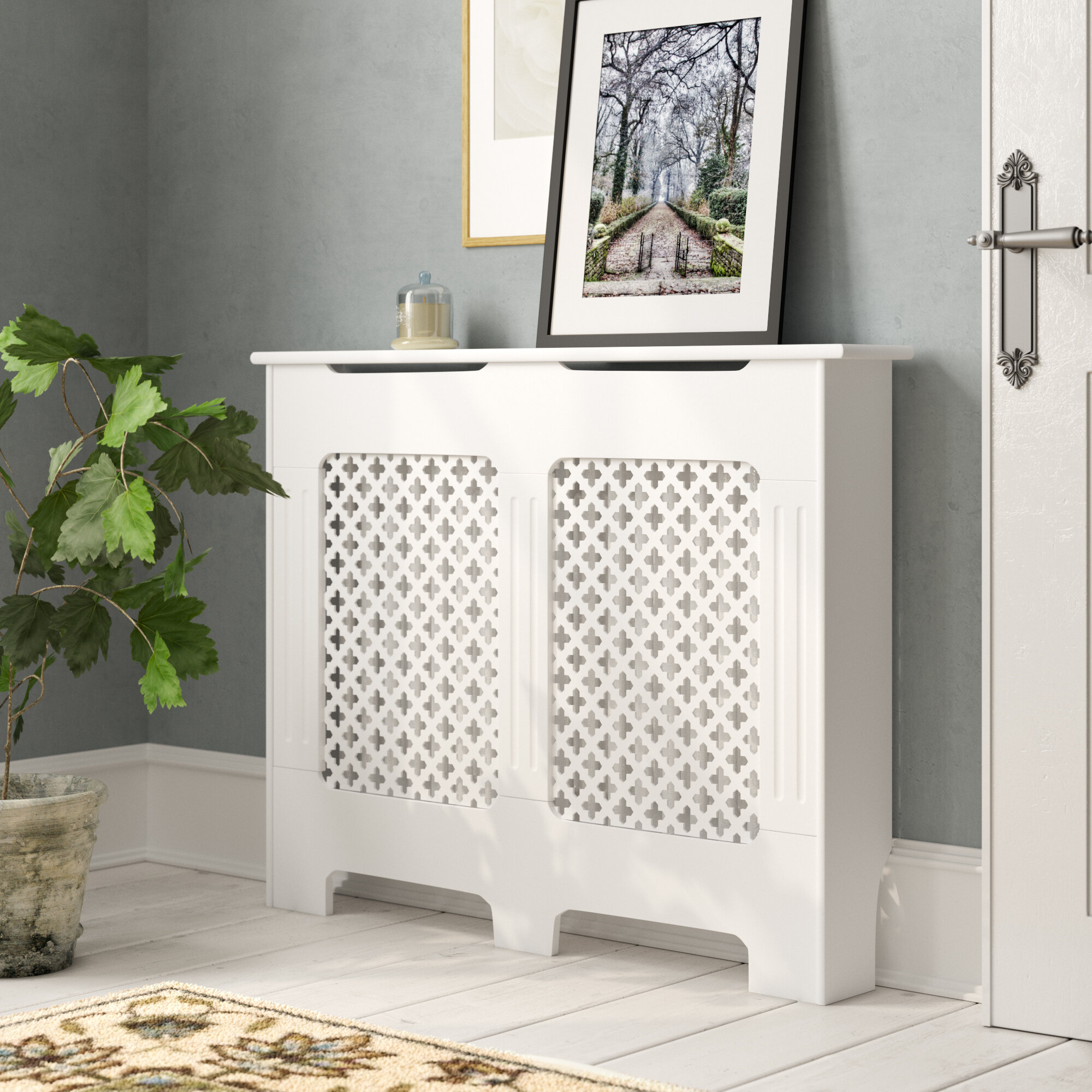 Three Posts Malcolm Radiator Cover Wayfair Co Uk