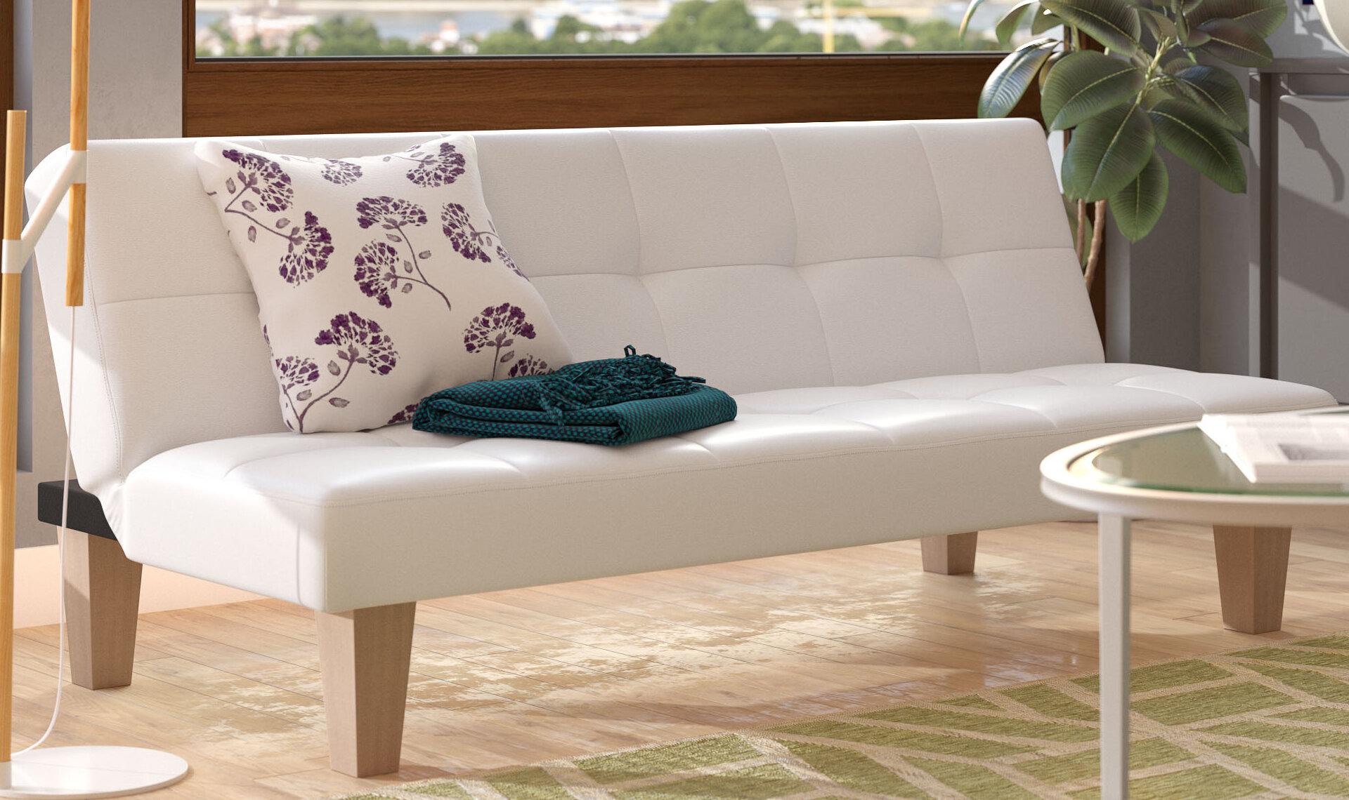 Zipcode Design Roberto Convertible Sofa U0026 Reviews | Wayfair