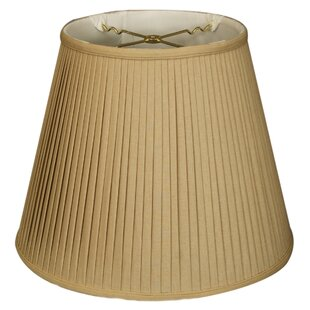 Best Price 12 Linen Empire Lamp Shade By Alcott Hill