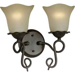 Charlton Home Cordia 2-Light Vanity Light