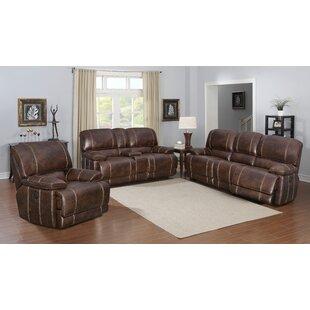 Rutkowski Reclining Configurable Living Room Set Charlton Home
