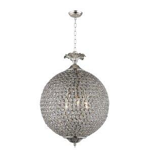 House of Hampton Lasalle 3-Light Globe Ch..
