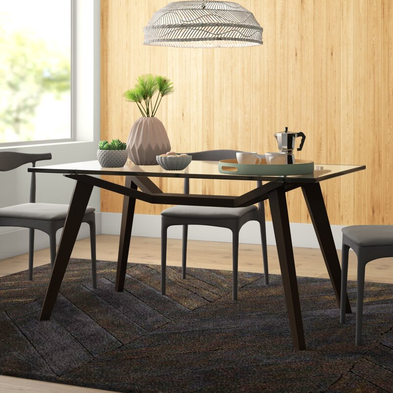 Sienna Solid Wood Dining Table Reviews Allmodern