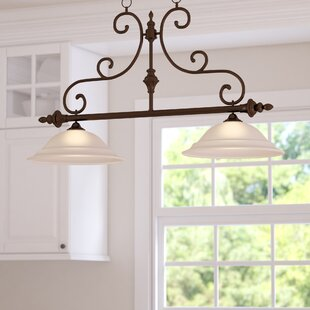 Darby Home Co Knapp 2-Light Kitchen Island Pendant