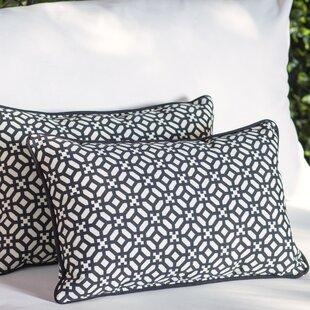 Leticia Outdoor Lumbar Pillow (Set of 2)