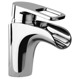 Jewel Faucets J10 Bath Series Single Loop Handle Bathroom Faucet with Waterfall Spout