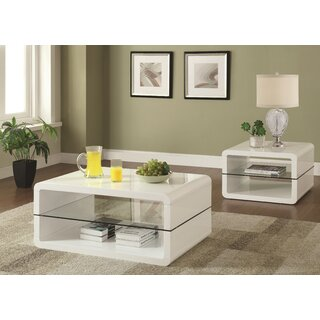 Albano Coffee Table by Latitude Run SKU:AE290802 Details