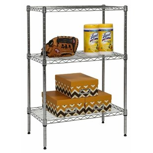 3-Shelf Wire Shelving 36