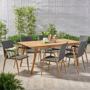 Conde Outdoor 7 Piece Dining Set