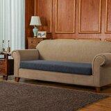 Jacquard Spandex Stretch Box Cushion Sofa Slipcover by Winston Porter