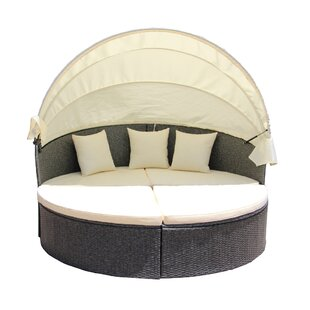 Latitude Run Patio Daybed with Cushions