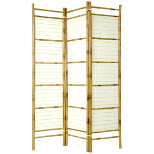 Rossignol Shoji 3 Panel Room Divider by Bloomsbury Market