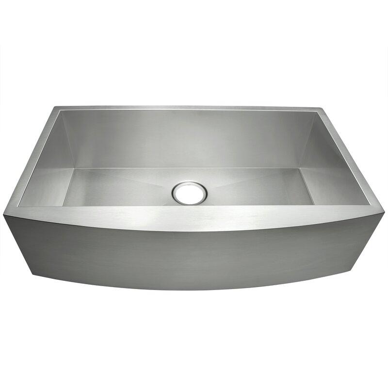 """AKDY  30"""" x 20"""" Farmhouse Kitchen Sink"""