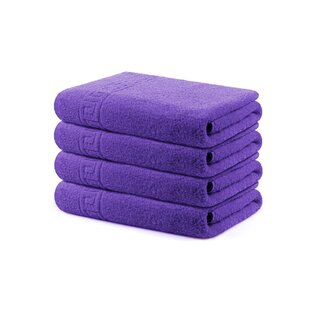 Vise 100% Cotton Bath Towel (Set of 4)