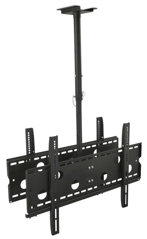 "Mount it Dual Screen Rotating Tilt Ceiling Mount 32"" 75"" LCD"