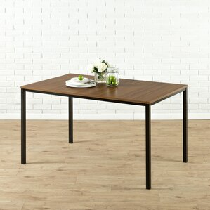 Modern Wood Kitchen Table modern & contemporary kitchen & dining tables you'll love | wayfair