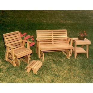 Cedar 4 Piece Conversation Set