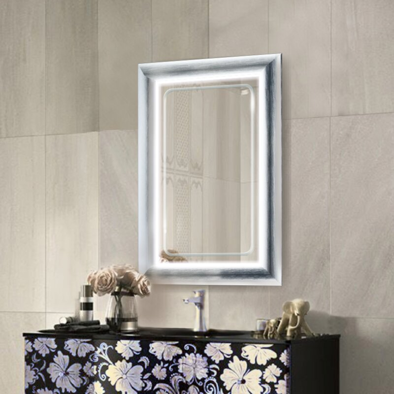 Leigh LED Lighted Bathroom/Vanity Mirror