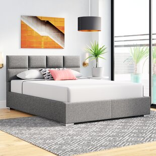 Eden Upholstered Platform Bed by Wade Logan