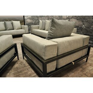 Tilly 4 Piece Sunbrella Sofa Set with Cushions