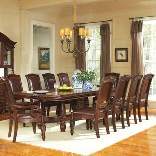 Antoinette 11 Piece Dining Set by Astoria Grand Amazing