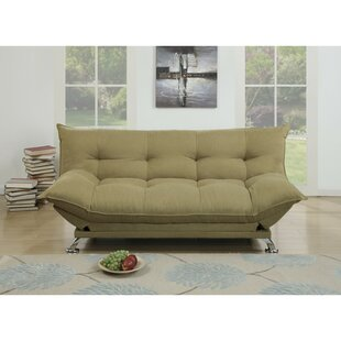 Maas Velvet Fabric Cushion Adjustable Convertible Sofa