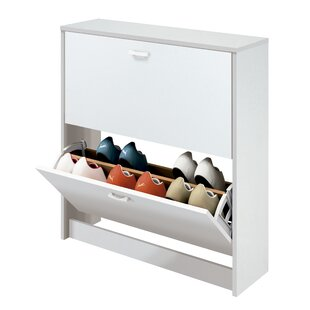 Vikenti 12 Pair Flip Down Shoe Storage By Ebern Designs