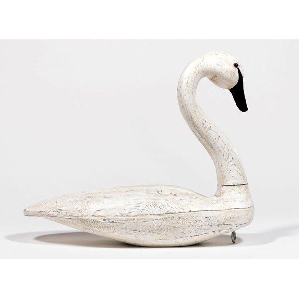 Wooden Swan Decoy Wayfair
