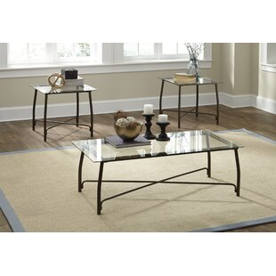 Bon Mabrey 3 Piece Coffee Table Set