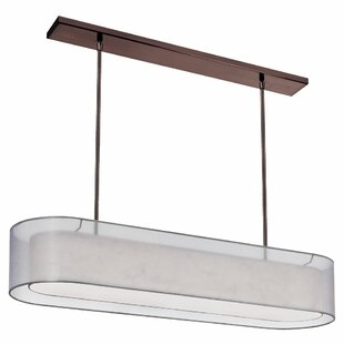 Orren Ellis Dionysus 4-Light Adjustable Height Kitchen Island Pendant