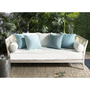 Farr Teak Patio Daybed wit..