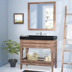 Madalyn 42 Single Bathroom Vanity with Mirror ByUnion Rustic